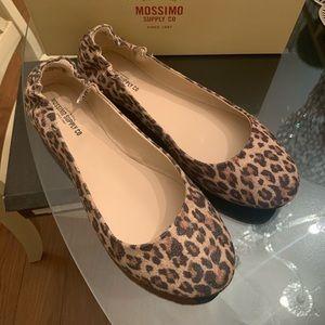 Mossimo Ona flat animal print shoe